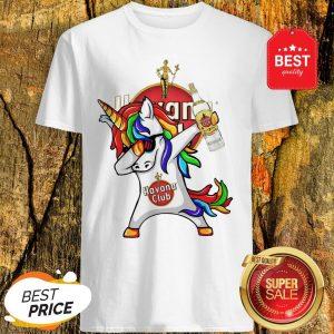 Official Rainbow Unicorn Havana Club Logo Shirt