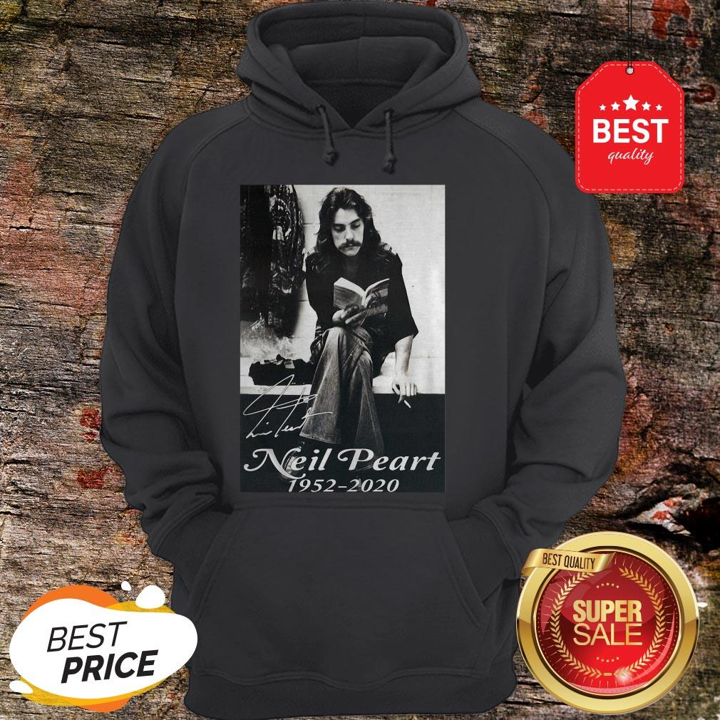 Official Signature Neil Peart 1952 2020 Poster Hoodie