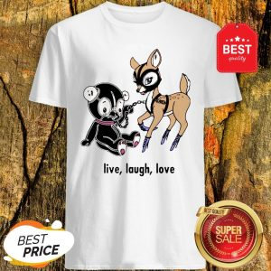 Official Live Laugh Love Valentine Day Shirt