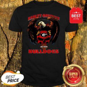 Eagle Harley-Davidson Georgia Bulldogs Logo Shirt