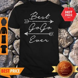 Nice Best Gogo Ever Tribal Arrows Mother's Day Gift Shirt