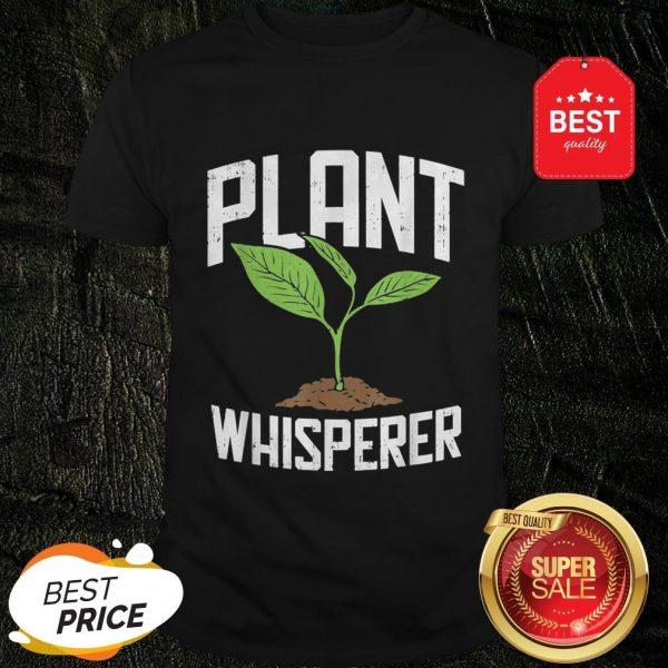 Official Plant Whisperer Plant Tree Save The World Shirt