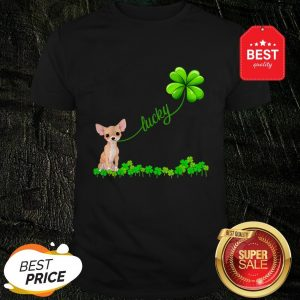 Official Premium Irish Lucky With Chihuahua Lover Shirt
