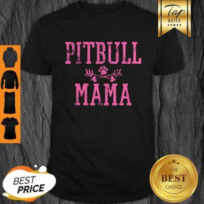 Official Pitbull Dog Mom Mama Vintage Shirt