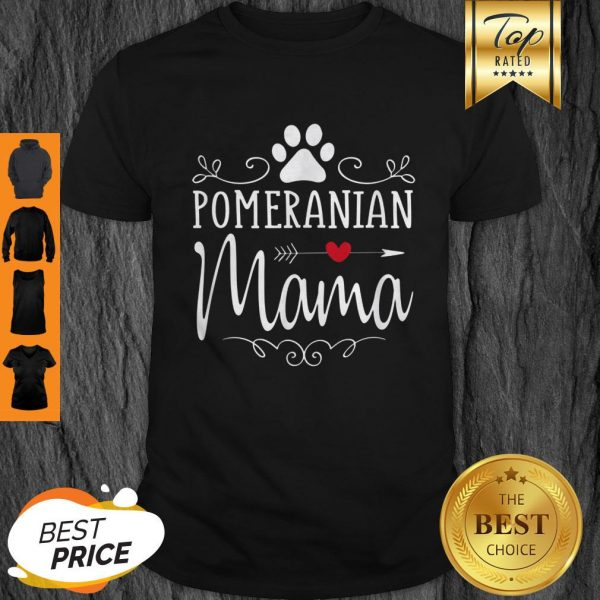 Official Pomeranian Mama Gift Shirt