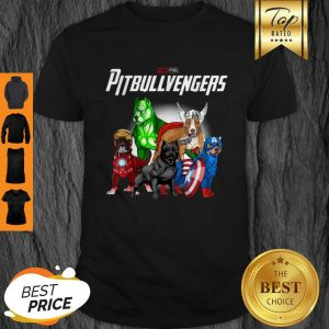 Original Pitbullvengers- Pitbull Dog Father's Day, Mother's Day Shirt