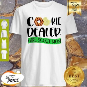 Official Cookie Dealer Girl Scout Mom Shirt