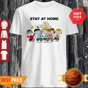Official Peanuts Mask Stay At Home Shirt