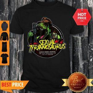 Sexual Tyrannosaurus Premium Long Cut Shirt