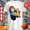 Official Strong Girl Tattoos Farmer Coronavirus Shirt