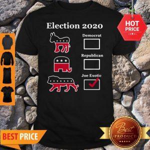 Official Joe Exotic For President Eletion 2020 Tee Shirt