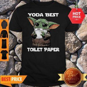 Official Star Wars Baby Yoda Yoda Best Toilet Paper Shirt