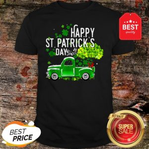 Official Truck St Patrick's Day Irish Gift Shirt