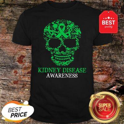 Official Skull Kidney Disease Awareness Shirt