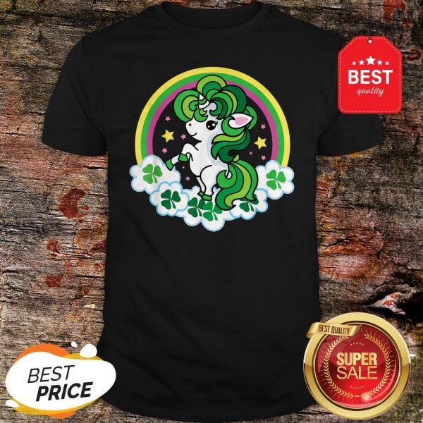 Official Unicorn St Patricks Day Irish Shirt