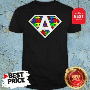 Official Autism Awareness Superhero Shirt