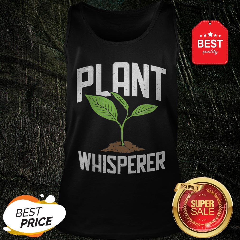 Official Plant Whisperer Plant Tree Save The World Tank Top