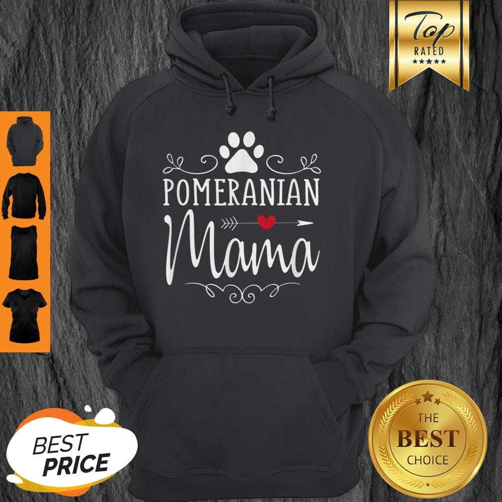 Official Pomeranian Mama Gift Hoodie