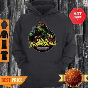 Sexual Tyrannosaurus Premium Long Cut Hoodie