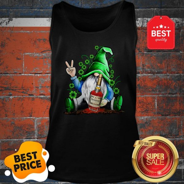 Official Gnome Hug Hennessy Irish St. Patrick's Day Tank Top