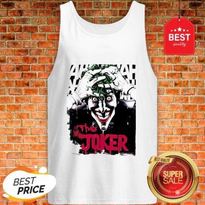 Official The Joker Hahaha Tank Top