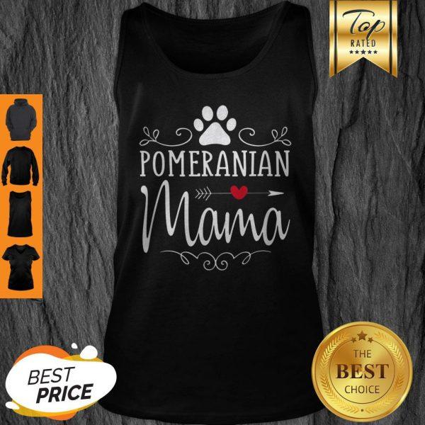 Official Pomeranian Mama Gift Tank Top
