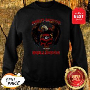 Eagle Harley-Davidson Georgia Bulldogs Logo Sweatshirt