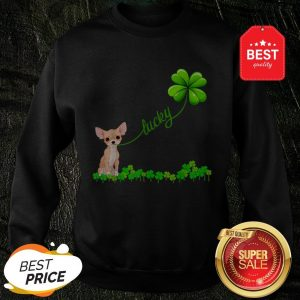 Official Premium Irish Lucky With Chihuahua Lover Sweatshirt