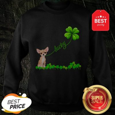 Official Premium Irish Lucky With Chihuahua Lover Sweatshirt