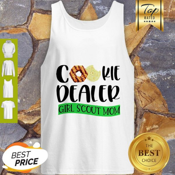 Official Cookie Dealer Girl Scout Mom Tank Top