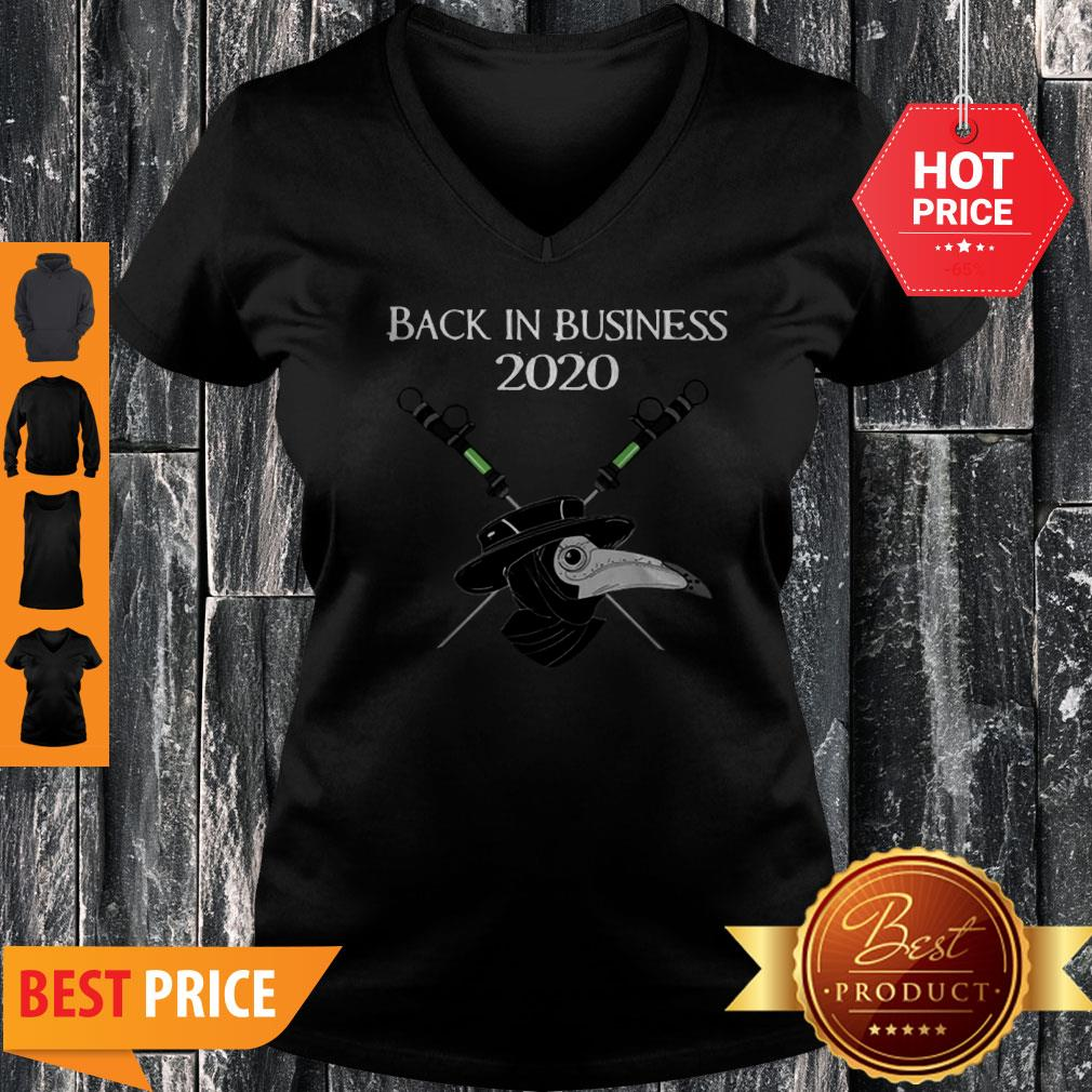 Official Back In Business 2020 Star Wars V-Neck
