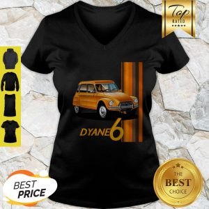 Official Classic Car Dyane 6 V-Neck