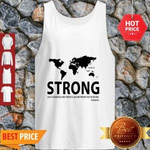 World Strong Covid-19 God Is Our Refuge And Strength Tank Top