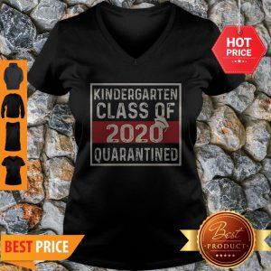 Official Kindergarten Class Of 2020 Quarantined V-Neck