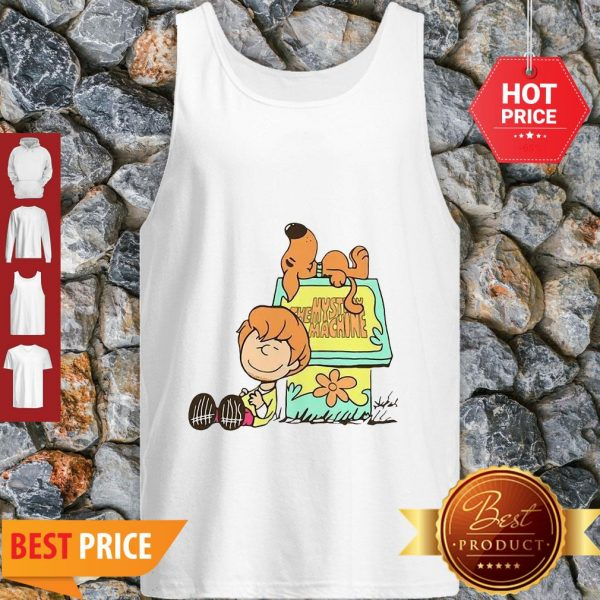 Scooby Doo And Shaggy Rogers The Mystery Machine Tank Top
