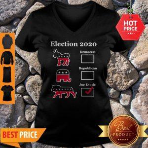 Official Joe Exotic For President Eletion 2020 Tee V-Neck
