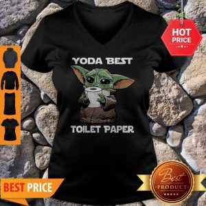 Official Star Wars Baby Yoda Yoda Best Toilet Paper V-Neck