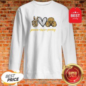 Official Peace Love Poodles Sweatshirt