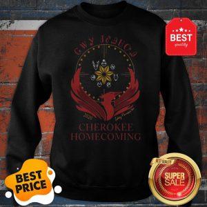 Official Selects Poindexter As 2020 Cherokee Phoenix Sweatshirt