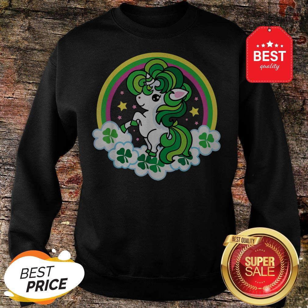 Official Unicorn St Patricks Day Irish Sweatshirt