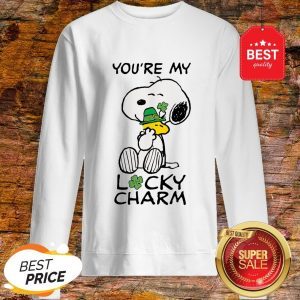 Official Peanuts St. Patrick's Snoopy Lucky Sweatshirt