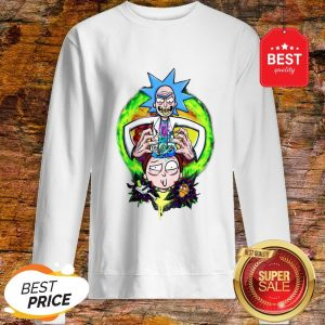 Official Rick And Morty CRAZY DOCTOR Sweatshirt