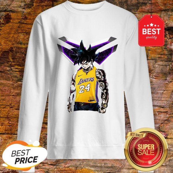 Official Songoku Kobe Bryant Logo Sweatshirt