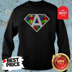 Official Autism Awareness Superhero Sweatshirt