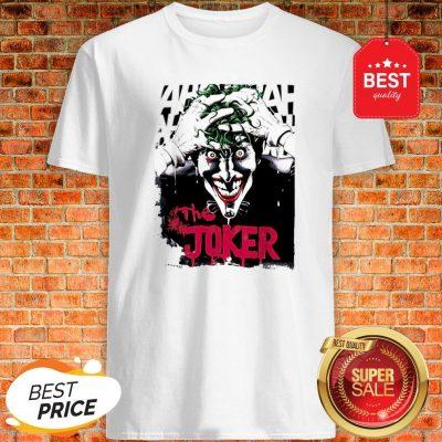 Official The Joker Hahaha Shirt