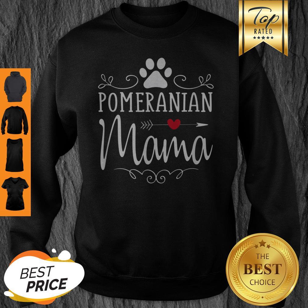 Official Pomeranian Mama Gift Sweatshirt