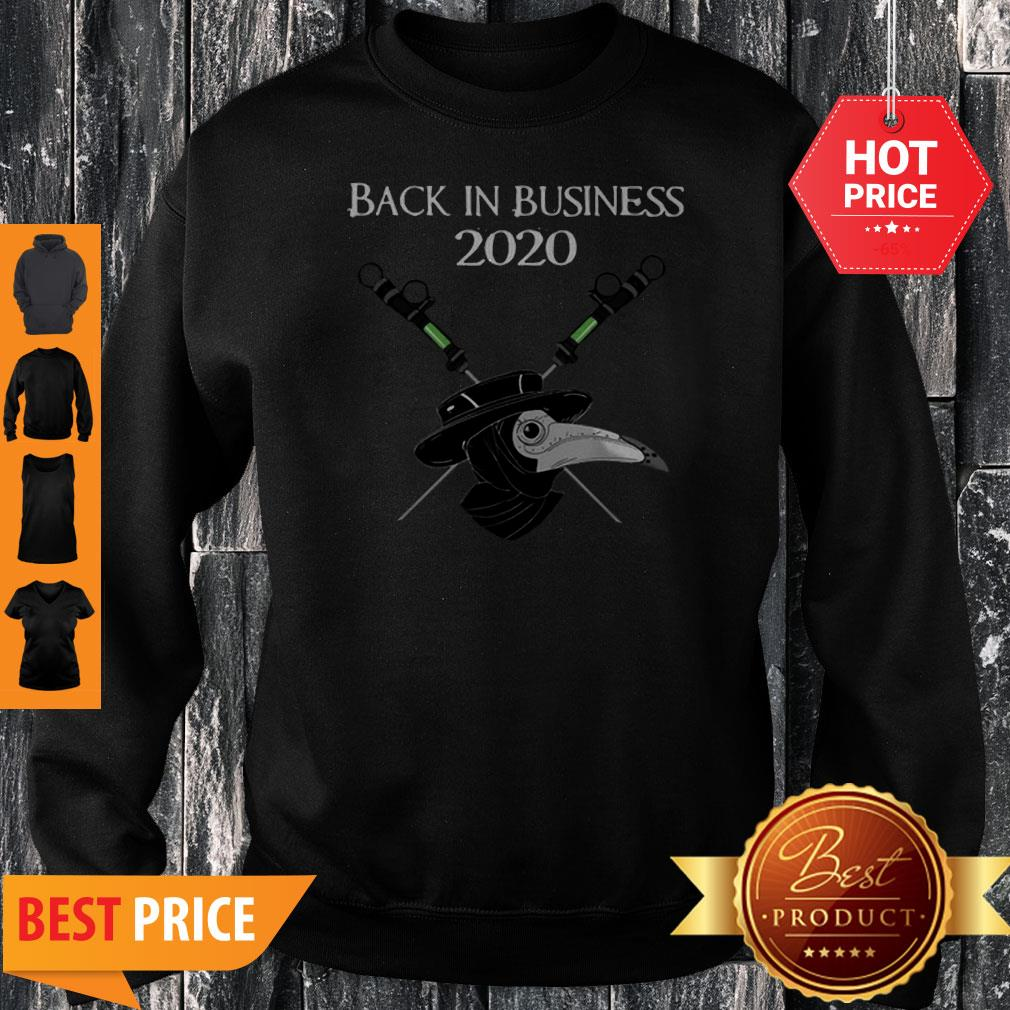 Official Back In Business 2020 Star Wars Sweatshirt