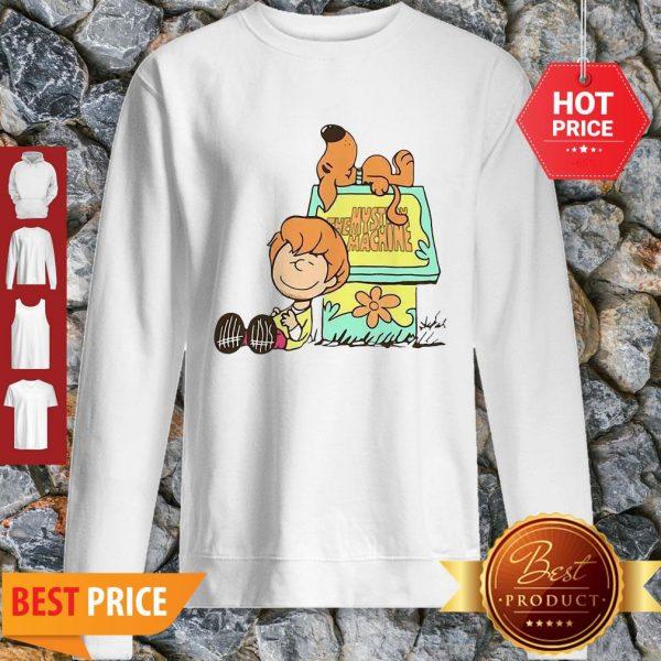 Scooby Doo And Shaggy Rogers The Mystery Machine Sweatshirt