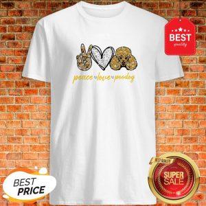 Official Peace Love Poodles Shirt