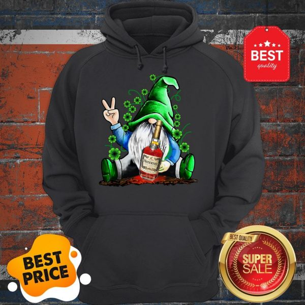 Official Gnome Hug Hennessy Irish St. Patrick's Day Hoodie